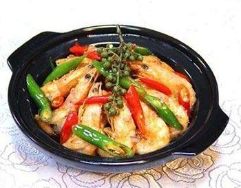 瓦香大虾米饭